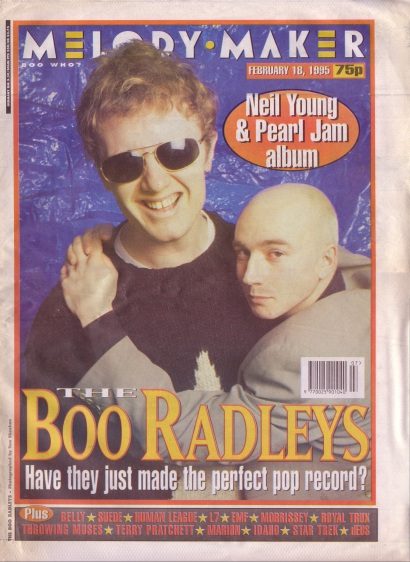 The Boo Radleys Cover Feb 18th 1995