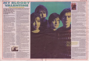 My Bloody Valentine Interview by David Stubbs Jan 26th 1991