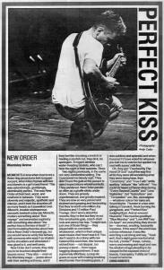 New Order live at Wembley Arena Dec 1987