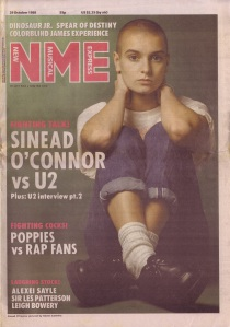 Sinead O\'Connor NME cover 29th October 1988