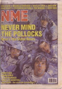 The Stone Roses N.M.E. cover 1989