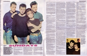 The Sundays MelodyMaker Interview Jan 20th 1990
