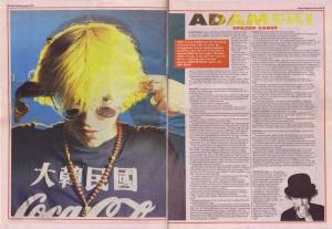 Simon Reynolds interviews Adamski, 22nd Sepember 1990