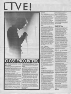 David Stubbs reviews The Jesus and Mary Chain and other live reviews 24th-31st December 1988