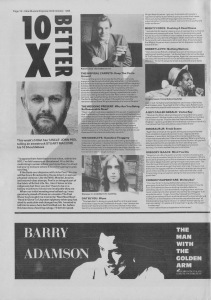 John Peel Hitlist NME 22nd October 1988
