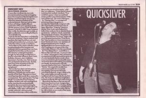 Mercry Rev live at Mean Fiddler June 15th 1991