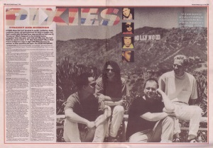 Jon Wilde interviews The Pixies for Melody Maker, 11th August 1990 (part1)