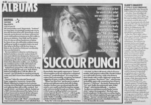 Sharon O\' Connell reviews Seefeel\'s Succour, 18th March 1995
