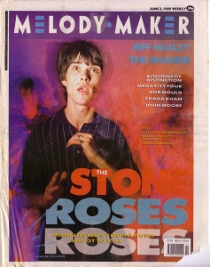 The Stone Roses - cover of the Melody Maker 3rd June 1989