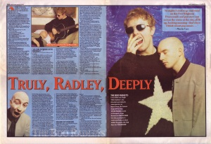 The Boo Radleys Interview Part 1 18th February 1995