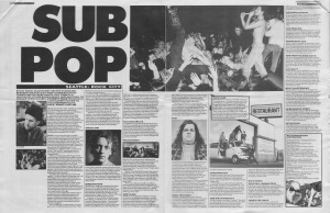 Everett True presents a guide to the Sub Pop rosta, 18th March 1989
