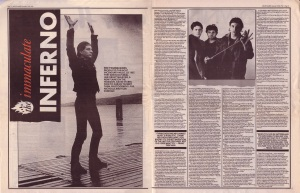 David Stubbs interviews The Young Gods 19th - 26th December 1987