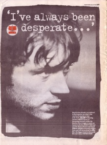 Everett True interviews Blur in America (part one) 9th March 1996