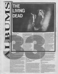 Steve Sutherland reviews The Nephilim by Fields of the Nephilim, 3rd September 1988
