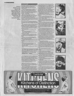 Simon Reynolds interviews The Stone Roses (part 2), 3rd June 1989