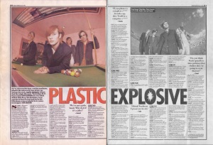 David Bennun interviews Plastic Fantastic, 9th March 1996