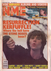 ian-brown-on-the-cover-of-nme-19th-november-1994