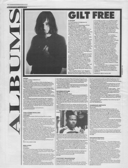 Simon Reynolds reviews A Gilded Eternity by Loop 20th January 1990