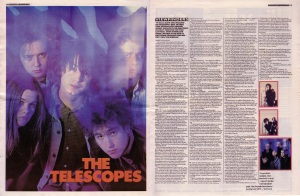 Steve Sutherland interviews The Telescopes, 20th January 1990