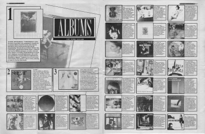 Melody Maker top 30 albums of the year, 1988