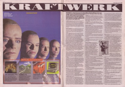 David Stubbs interviews Kraftwerk, 20th July 1991