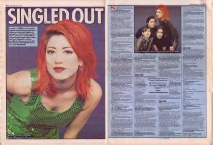 Dave Simpson interviews Lush, 20th January 1996