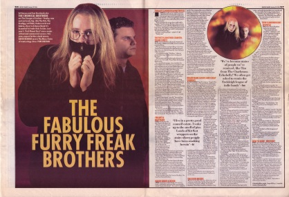 David Bennun interviews The Chemical Brothers, 20th January 1996