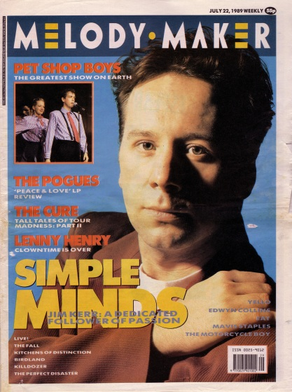 simple-minds-on-the-cover-of-melody-maker-22nd-july-1989