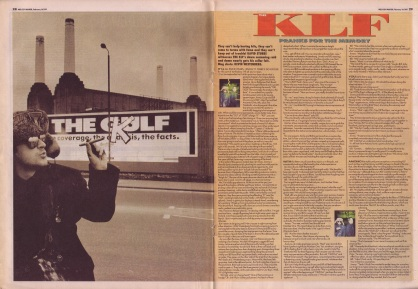 David Stubbs interviews The KLF, 16th February 1991