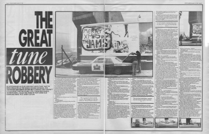 Mat Smith interviews The Justified Ancients of Mu Mu, 12th December 1987