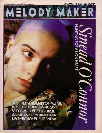sinead-oconnor-on-the-cover-of-melody-maker-12th-december-1987