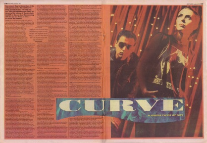 Steve Sutherland interviews Curve, 26th October 1991