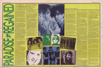 Steve Sutherland interviews The Jesus & Mary Chain, 25th April 1987