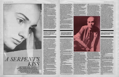 The Stud Brothers interview Sinead O'Connor, 12th December 1987