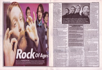 Andrew Mueller interviews Teenage Fanclub, 1st April 1995