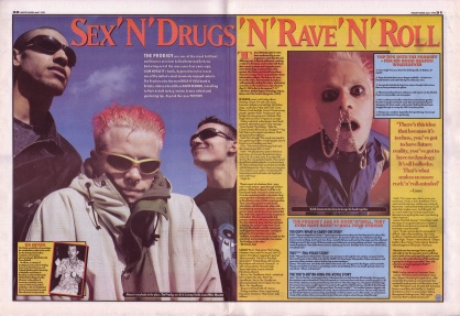 David Bennun interviews The Prodigy - part 1, 1st April 1995