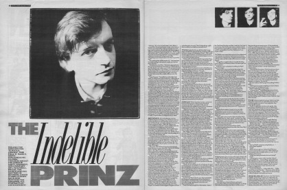 David Stubbs interviews Mark E Smith, 12th November 1988