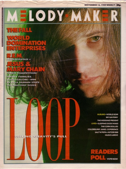 loop-on-the-cover-of-melody-maker-12th-november-1988