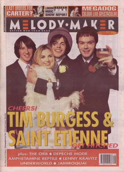 tim-burgess-and-saint-etienne-on-the-cover-of-melody-maker-11th-december-1993