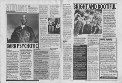 Various album reviews including Snoop Doggy Dog and The Boo Radleys, 11th December 1993