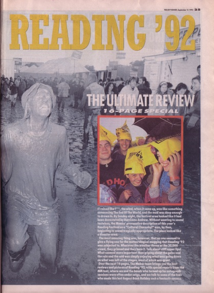 reading-festival-review-cover-12th-september-1992