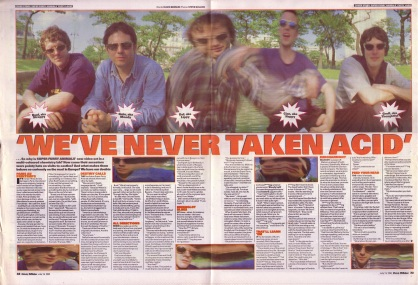David Bennun interviews Super Furry Animals - part 1, 13th July 1996