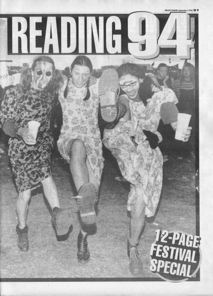 Reading Festival Review - Cover, 3rd September 1994
