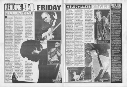 Reading Festival Review - Friday, 3rd September 1994
