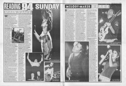 Reading Festival Review - Sunday, 3rd September 1994
