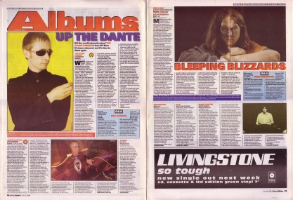 Simon Price reviews Cassanova by the Divine Comedy and David Stubbs reviews Expert Knob Twiddlers by Mike & Rich, 13th July 1996