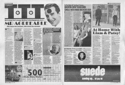Talk Talk Talk featuring Mr Agreeable, 13th July 1996
