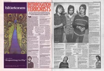 Ian Watson quizes Supergrass, 2nd March 1996