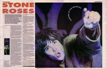 Jonh Wilde interviews The Stone Roses part 1, 9th December 1989