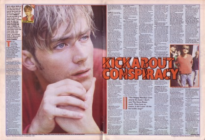 Steve Sutherland interviews Damon Albarn, 16th September 1995